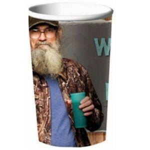 Duck Dynasty Plastic 22 Ounce Reusable Cup